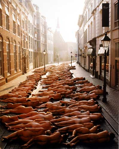 Spencer Tunick Photographs. Photos ilde: Spencer Tunick