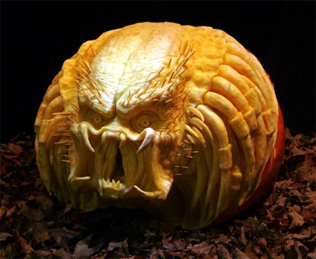 Pumpkin Carving Patterns Butterfly - Free Scary Carving Pictures