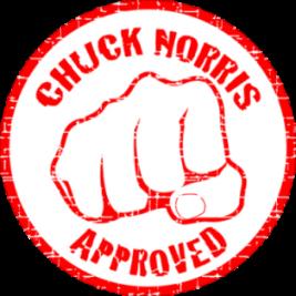 Blog Aprobado por Chuck Norris
