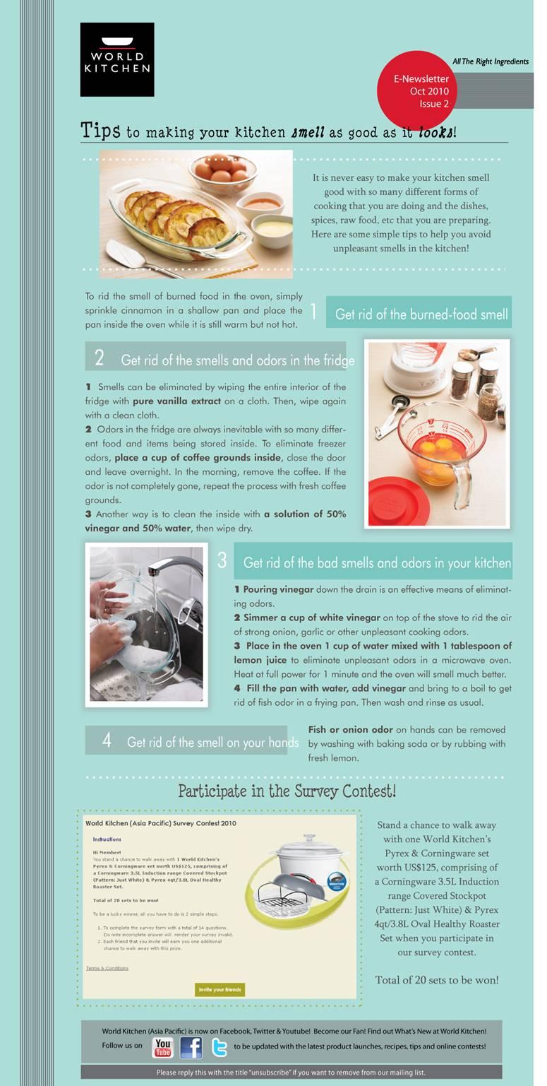 Home Kitchen Bakery: Kitchen Tips.: Share Form E -News Letter