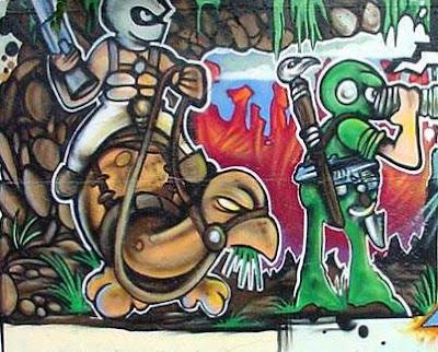graffiti characters,turtles graffiti