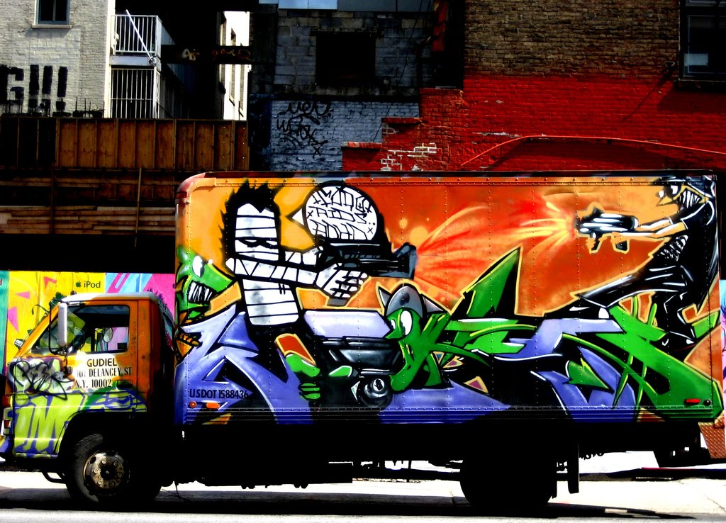 truck art, graffiti truck