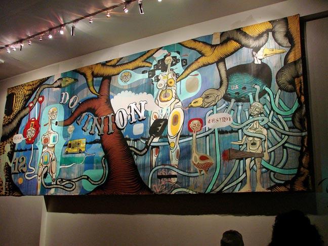 New grafity art image graffiti murals dominion for Graffiti mural