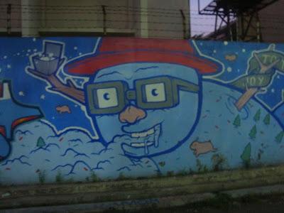 cool graffiti christmas,graffiti murals,graffiti alphabet,graffiti earth,globe graffiti