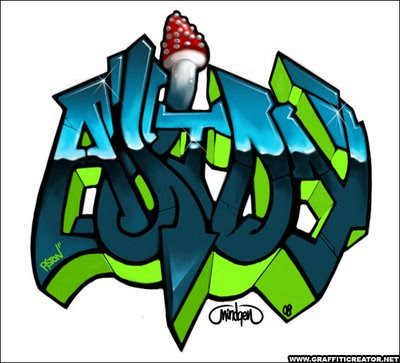 graffiti art wallpaper. graffiti art alphabet.