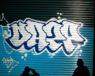 graffiti alphabet DAZE