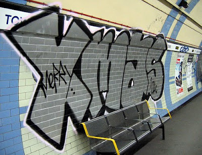Subway art graffiti