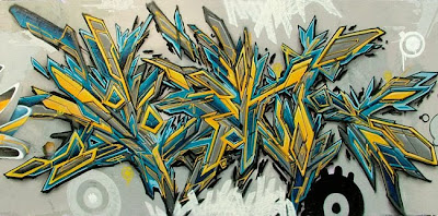 graffiti arrow colour green