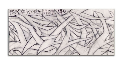 sickdog graffiti arrow