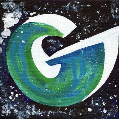 graffiti letter g