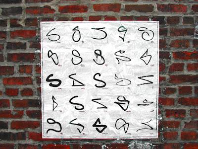 graffiti alphabet letter S