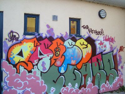 graffiti bubble