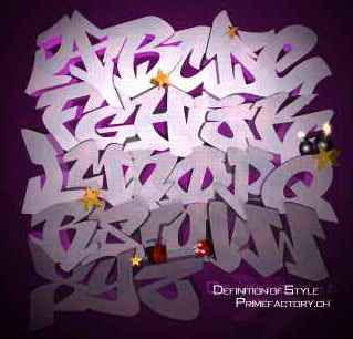 purple graffiti alphabet, graffiti 3d, graffiti alphabet