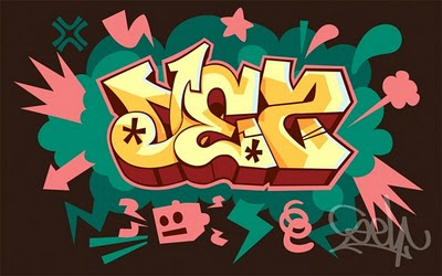 graffiti myname, des graffiti