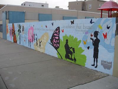 wall art, graffiti mural