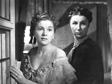 Joan Fontaine and Dame Judith Anderson