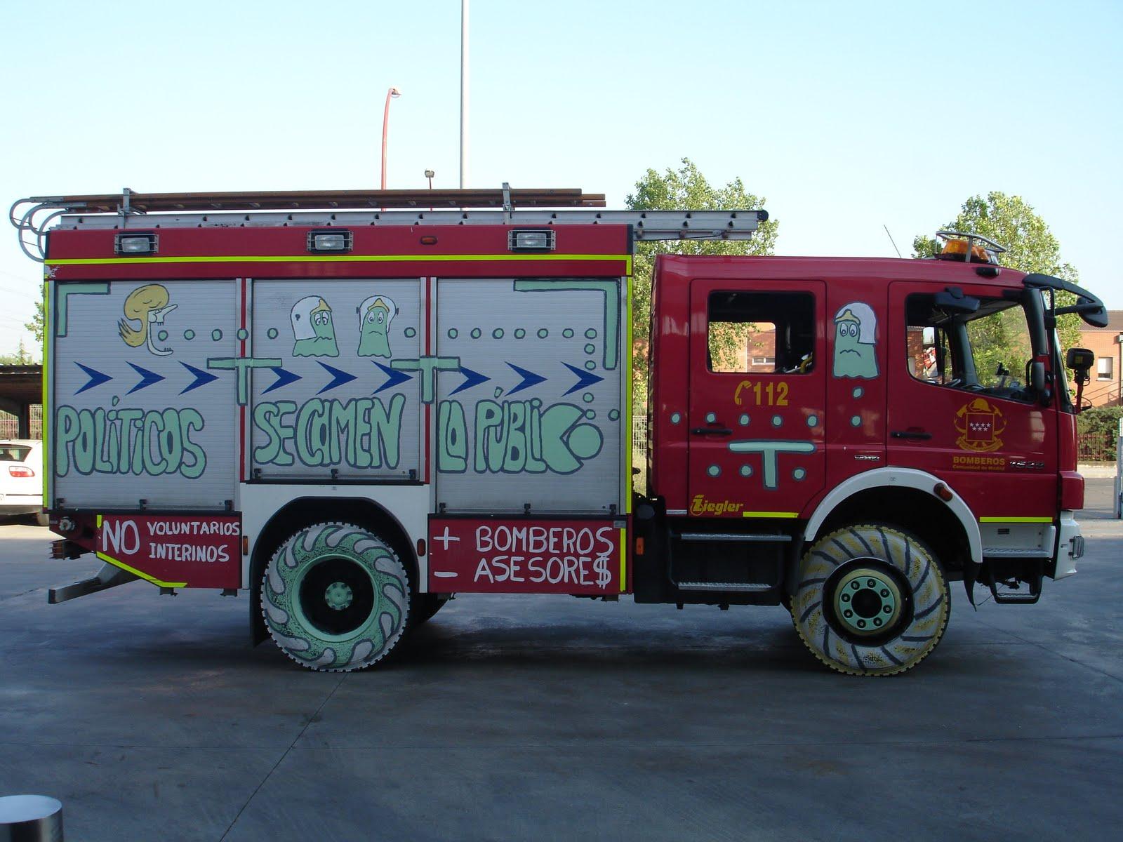 Bzgz bomberos zaragoza bomberos de la comunidad de madrid for Correo comunidad de madrid