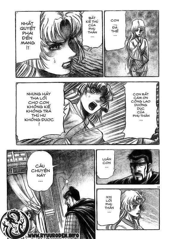 Chú bé rồng-Ryuuroden chap 186 Trang 14 - Mangak.info
