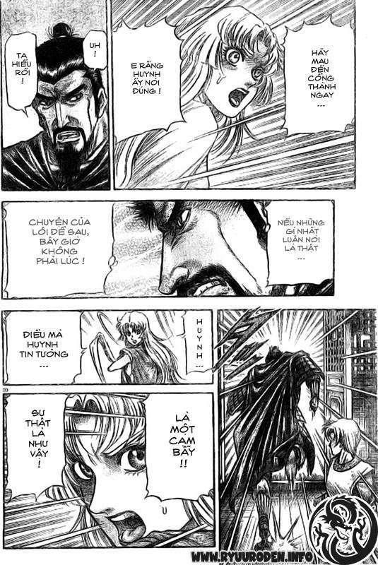 Chú bé rồng-Ryuuroden chap 186 Trang 21 - Mangak.info