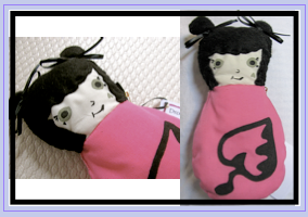 pink rag doll by julia finucane