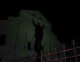 st louis cathedral shadow