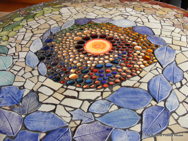 mosaic table how to make