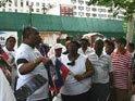 LES HAITIENS DE NEW YORK MANIFESTENT CONTRE LA MINUSTAH ET RENE PREVAL DEVANT L'ONU