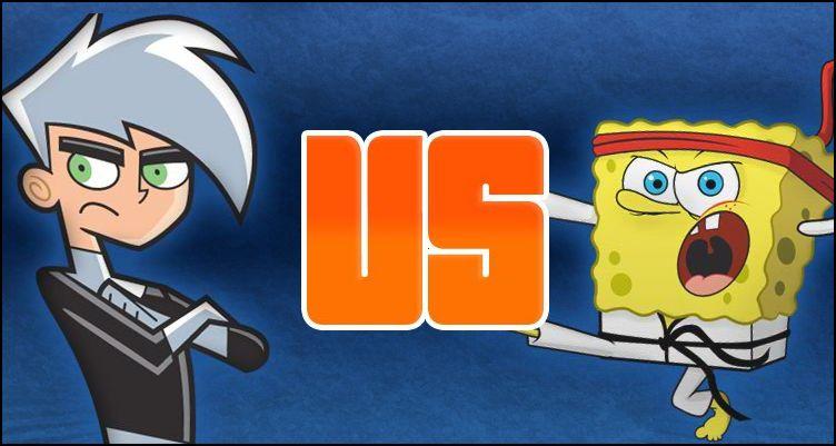 nicktoons overload 2012 day 1 danny phantom vs spongebob