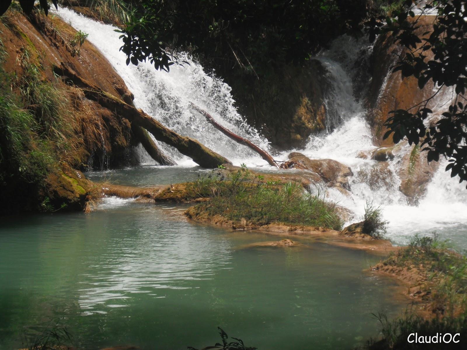 Literatura y mundo maya cascadas de agua azul for Cascadas de agua