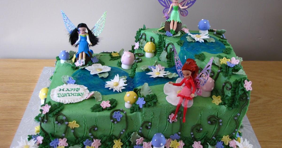Fairy Meadow Cakes