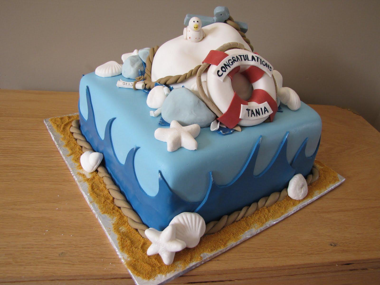 Ann Maries Creative Cakes Nautical Theme