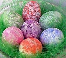 Яйца на петна