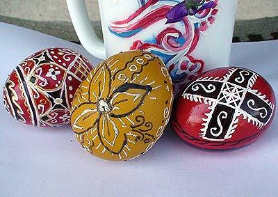 Рисувани яйца