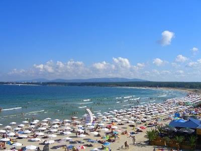 Централен плаж Приморско