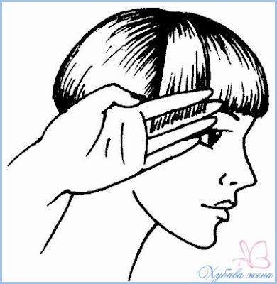 Прическа боб оформяне зоната над ушите