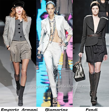Делова мода - дамски костюми