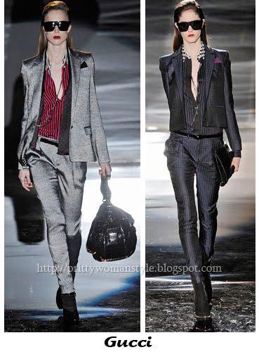 Дамски костюми с тесни панталони