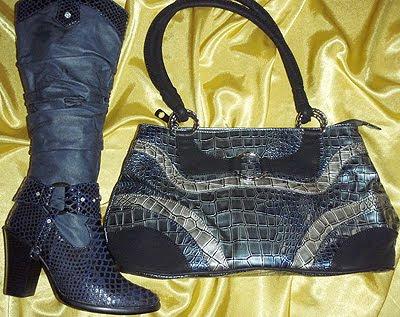 ботуши и чанта