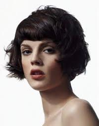 Прически с бретон - съвети за избор на бретони за ниско чело