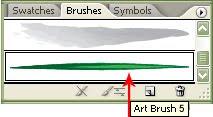 Illustrator New art brush