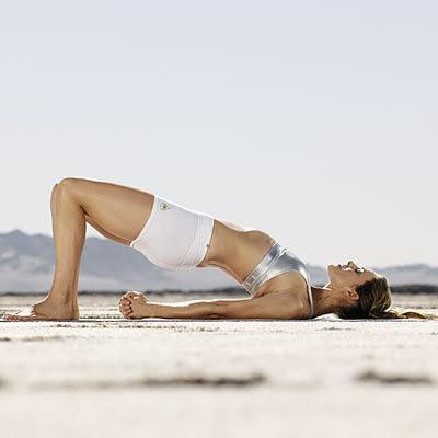 Йога против Целулит - мост