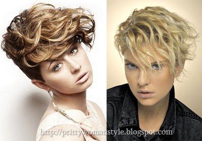 Къси подстрижки за къдрава коса