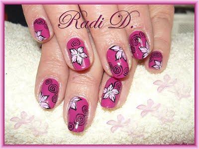 розови цветя