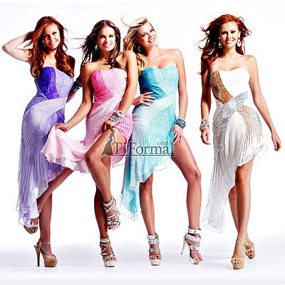 бални и булчински рокли 2011