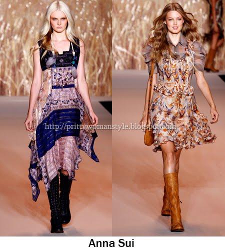 Къси роклички на Anna Sui