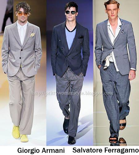 широки мъжки панталони