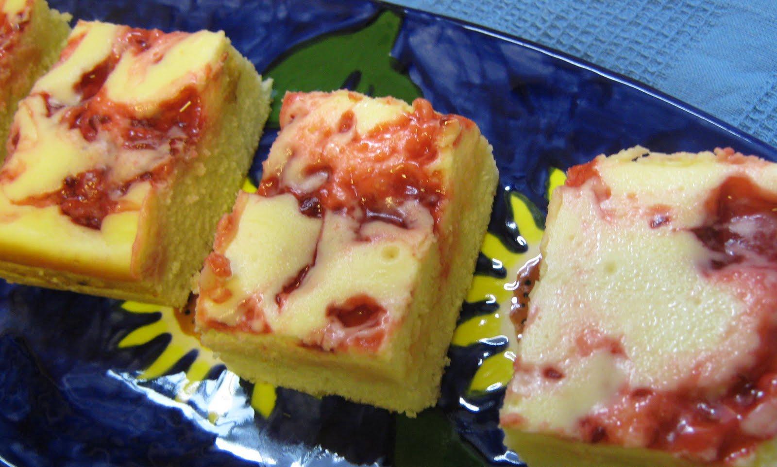 Abundance on a Dime: RECIPE: Raspberry Cream Cheese Squares