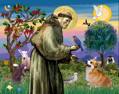 healing grace st francis of assisi patron of animals and the environment