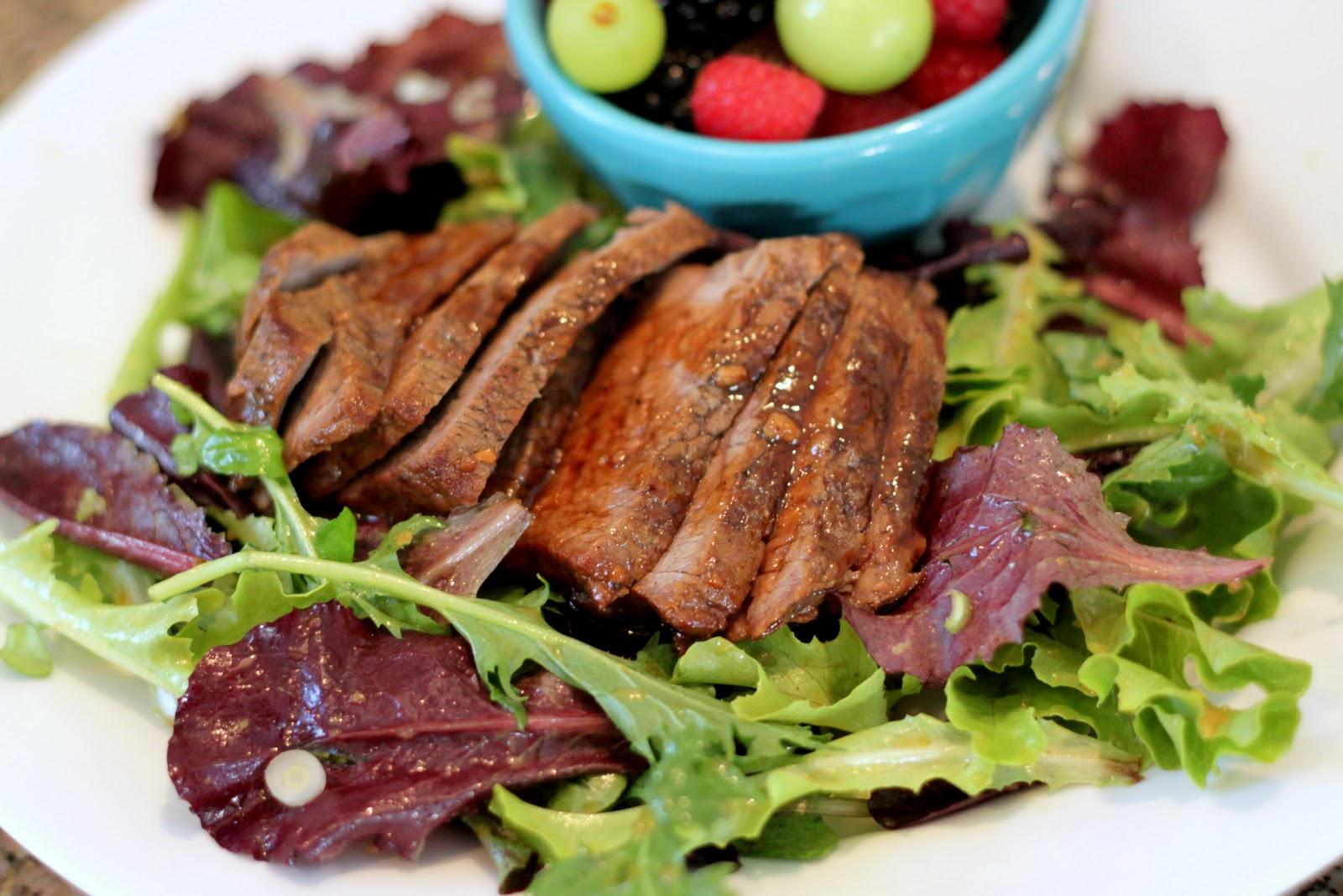 The Cook Next Door: Ginger Steak Salad