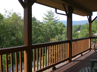 porch with view